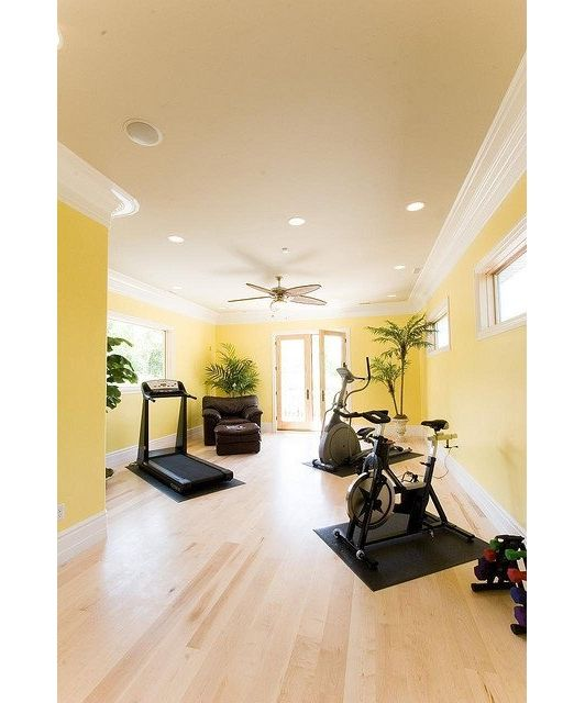 Home Gym Design Ideas Basement: 91 Best Home Gyms Images On Pinterest