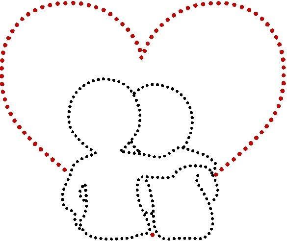 String-art Valentine