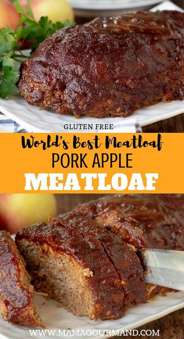 Pork Meatloaf Good Meatloaf Recipe Ground Pork Recipes Best Meatloaf