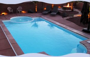 deck above ground fiberglass pool   we sell both above ground swimming pools and inground swimming pools ...