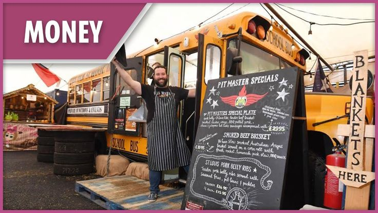 Dad turns old american school bus into a 400k restaurant