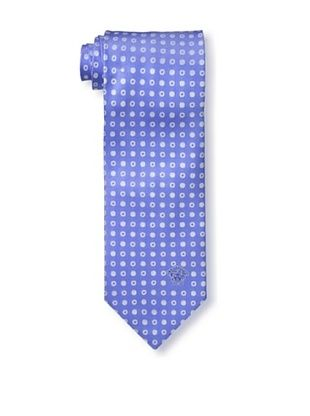 67% OFF Versace Men's Dotted Tie, Light Blue/White