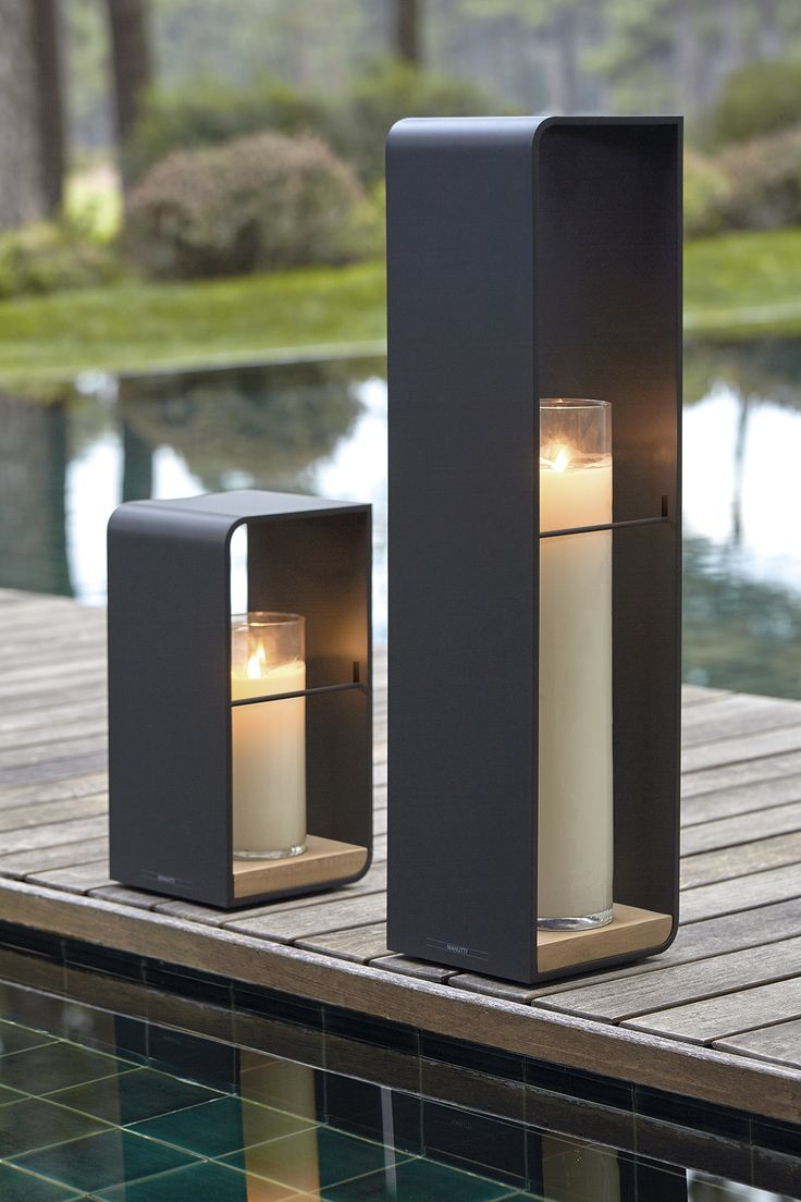 FLAME Outdoor Candle Light By Manutti