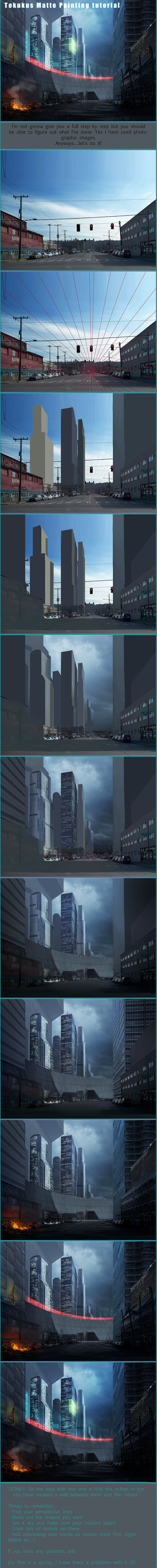 Matte Painting Tutorial by tokuku.deviantart.com on @DeviantArt