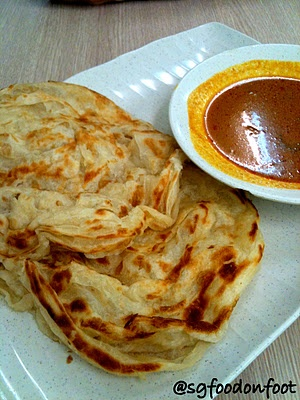 SG Food on Foot   Singapore Food Blog   Best Singapore Food   Singapore Food Reviews: Jalan Kayu The Prata Cafe @ Tanjong Katong