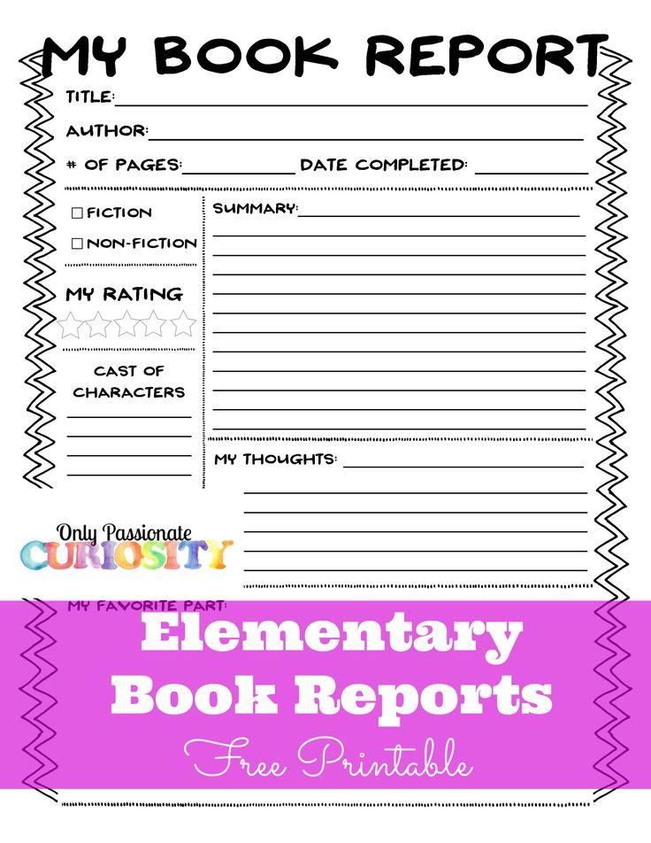 Book report writer manual