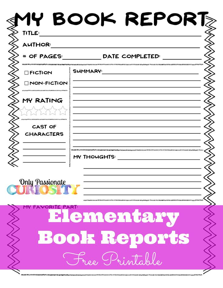 Growing up, I went to public school. One of the things I remember loving about elementary school was writing book reports. I loved to read, and it was so fun to put the books I read into tidy little reports. My kids don't love them as much as I do, but we are working on [...]