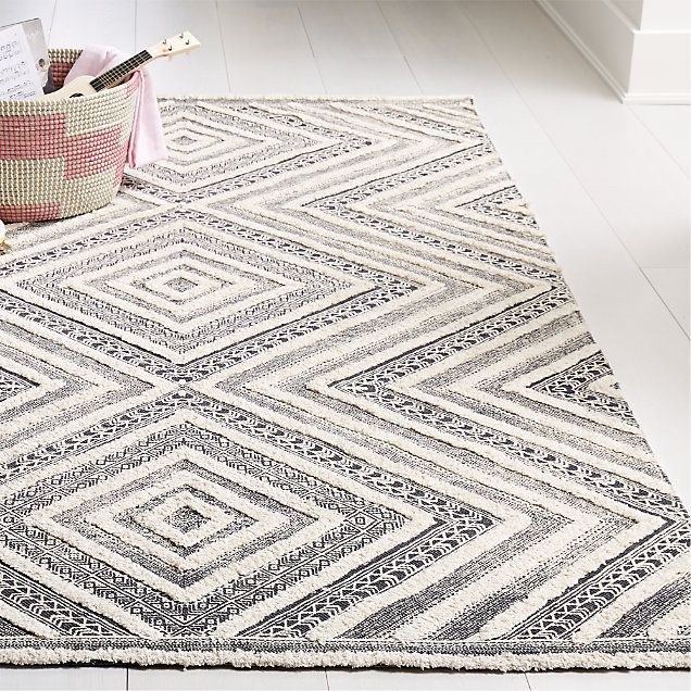Diamond Neutral Patterned Rug Swatch Reviews Crate And Barrel In 2020 Rug Pattern Neutral Rugs Crate And Barrel