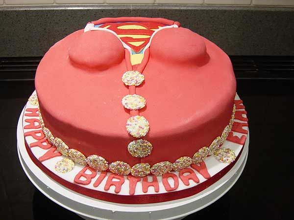 superwoman image for birthday | Lynda's Celebration Cakes, Birthday Cakes in Gretna Carlisle Cumbria ...