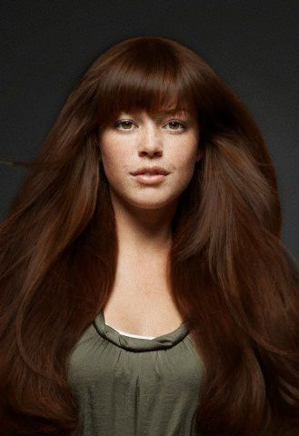Copper Brown Hair Color | Herbal Copper Brown Henna Hair ... - photo#36