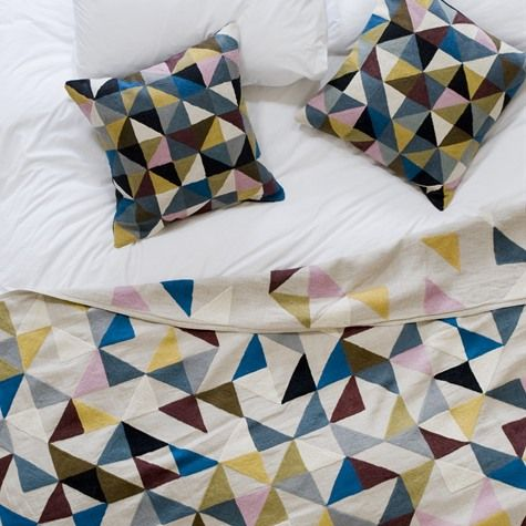 Unique Handcrafted Homewares by Niki Jones, including cushion covers and bone inlay furniture