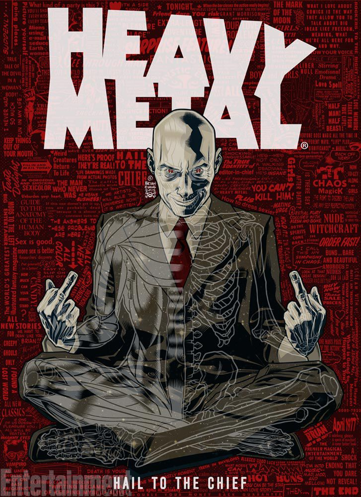 Heavy Metal editor Grant Morrison is giving the magazine a punk rock facelift | EW.com