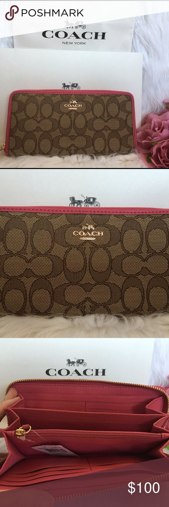 Brand new COACH Wallet Brand new with tag Coach Bags Wallets