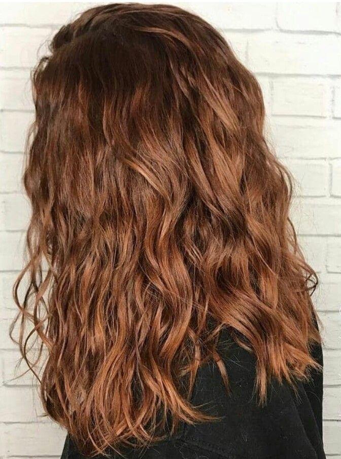 Wavy Perm Permed Hairstyles Beach Wave Perm Long Hair Perm