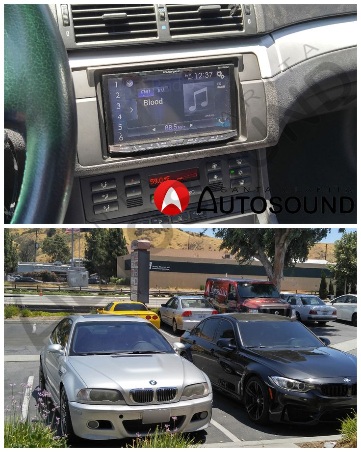 Pioneer AVH-4200NEX Installaed in BMW M3.  Keep Santa Clarita Auto Sound in your mind for all your stereo and sound system needs. Our phone number is (661) 286-1100