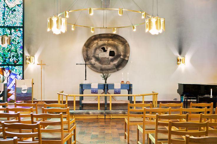 S:t Lukas kyrka, Kallhäll, invigd 1977. Foto: Ester Sorri. Kallhäll. Consecrated in 1977. Photograph: Ester Sorri