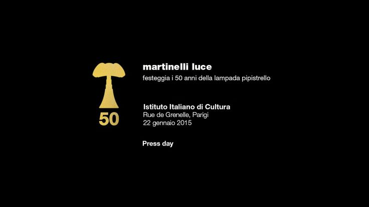 We introduce you a new video about press meeting organized for Pipistrello lamp - 1965/2015 http://pipistrello.martinelliluce.it/