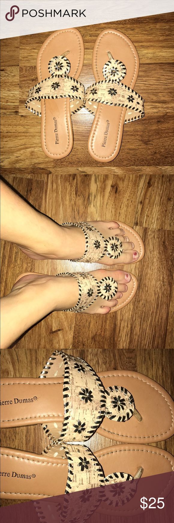 Jack rogers These are fake jack rogers that look exactly like the real ones you can even tell them apart when you have them on they are brand new and have no flaws Jack Rogers Shoes Sandals