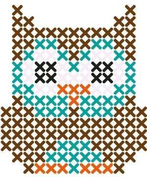 Owl perler bead pattern by shalaisjah.cason