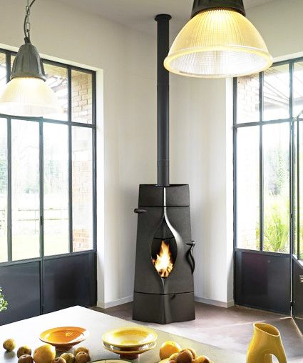 Modern Wood Stoves from Invicta France new Gaya and Oracle - 46 Best Modern Wood Stoves Images On Pinterest Wood Stoves, Wood