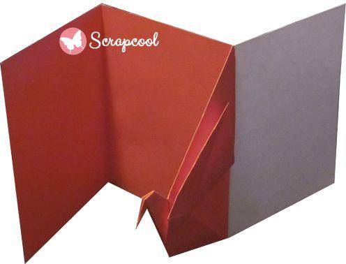 Tarjeta Origami