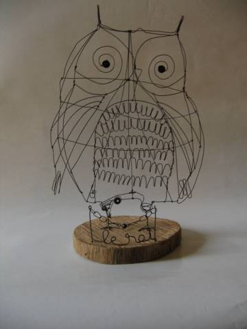 great example for wire sculpture