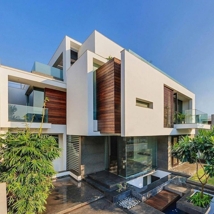 N85 Residence In New Delhi India: The Overhang House Designed By DADA & Partners Located In