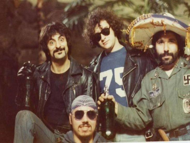 Tony Buba, Tom Savini, Marty Schiff, and Nick Tallo in Dawn of the Dead (1978)