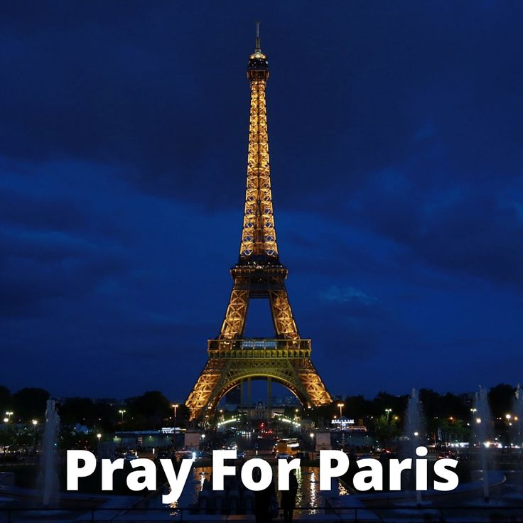 People stand in solidarity during time of violence in Paris