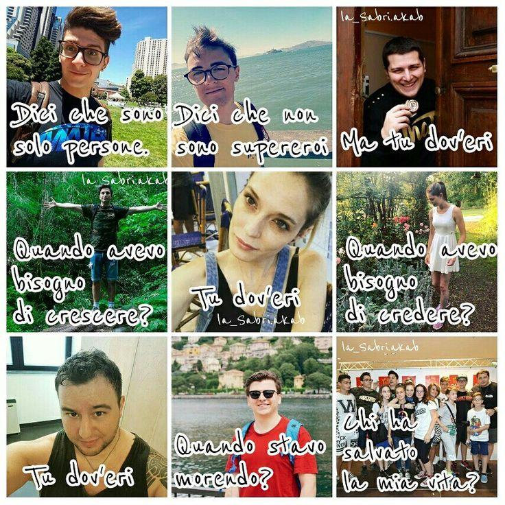 Edit fatto da me❤ istagram La mia pagina: la_Sabri.akab Il mio privato: nadiav24