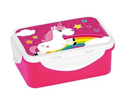 Unicorn Themed Tupperware Plastic Style Lunch Box | Unicorns