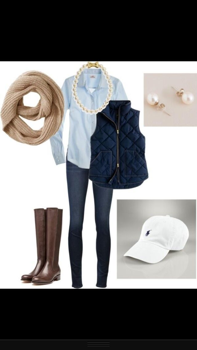 Cute, Well-Put-Together, and Clean - (yeah, yeah...the horsey RLP cap is a bit much for me, but the rest of it is very RTW for Summer-to-Fall)