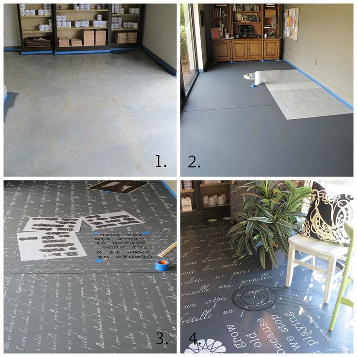 Using Chalk Paint, Floors And The Palette On Pinterest