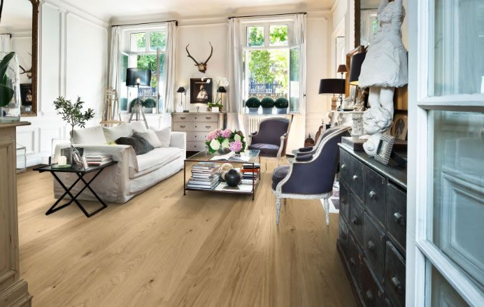 Natura By Kahrs Oak New Oxford Engineered Wood Flooring. £37.00 sqm