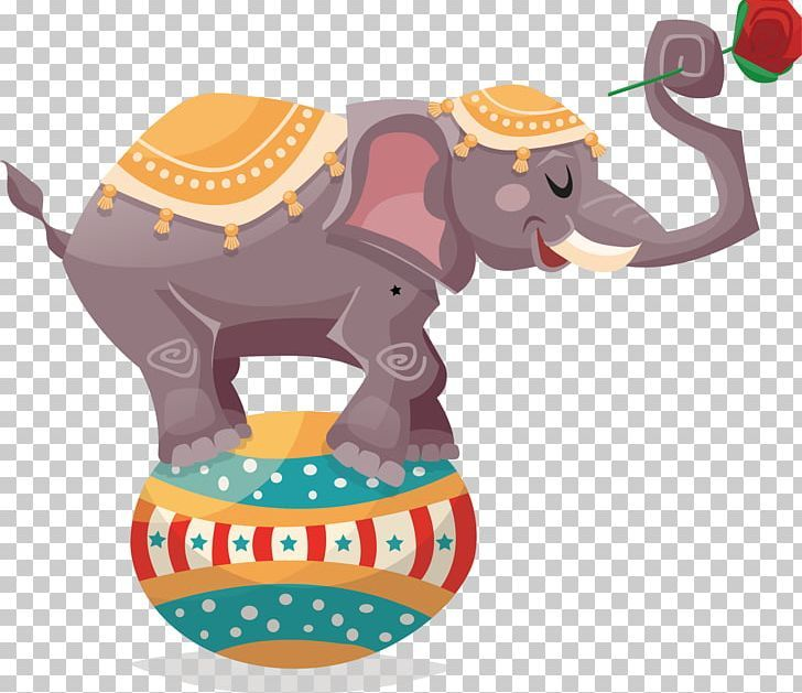 Circus Elephant Illustration Png Animals Baby Elephant Blanket Cartoon Chair Elephant Illustration Circus Elephant Children Illustration