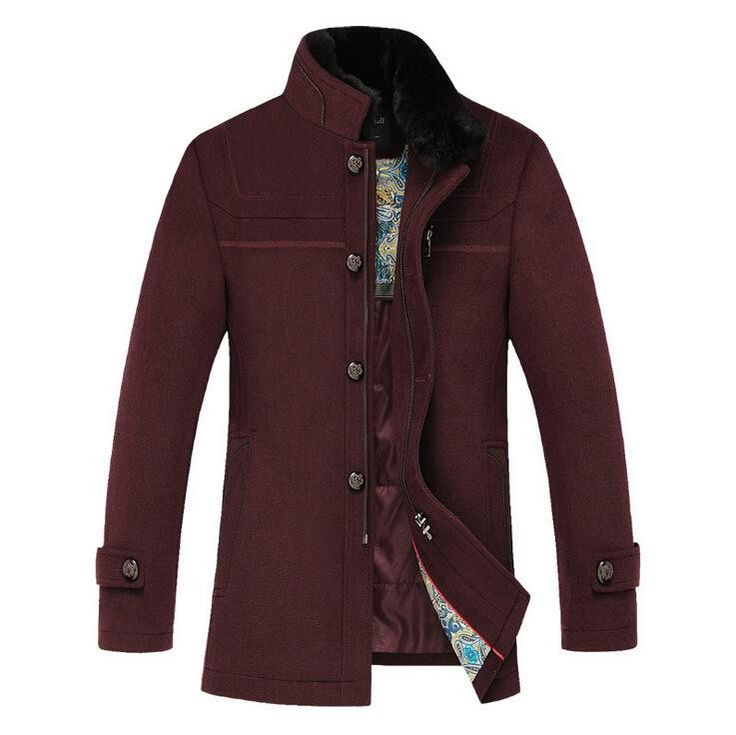 57 best APTRO Men's wool coat images on Pinterest | Warm, Its you ...