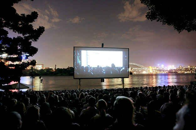 Enjoy an open-air cinema… in January.