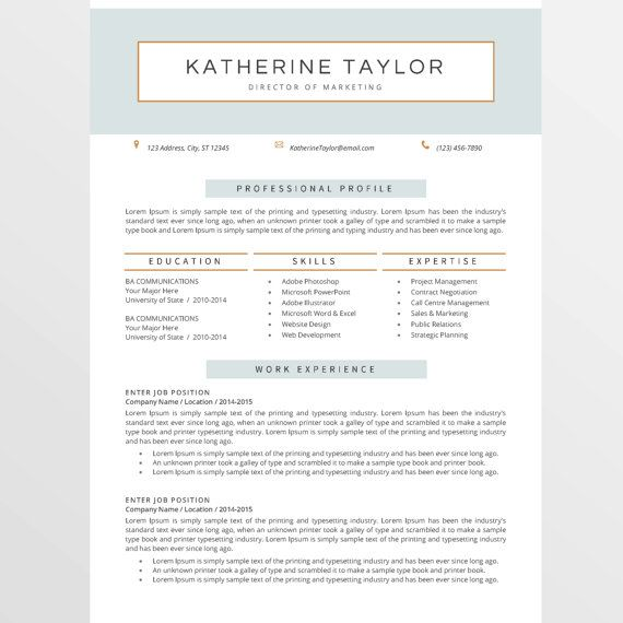 18 best Resumes images on Pinterest Cover letter template, Cover - typing a resume
