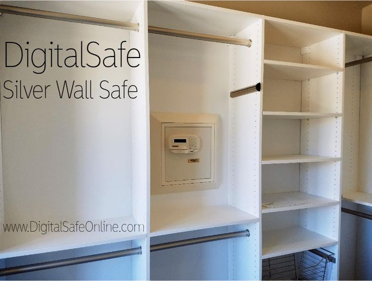 the silver wall safe from digitalsafe make sure your valuables are secure with this luxury - Wall Safes