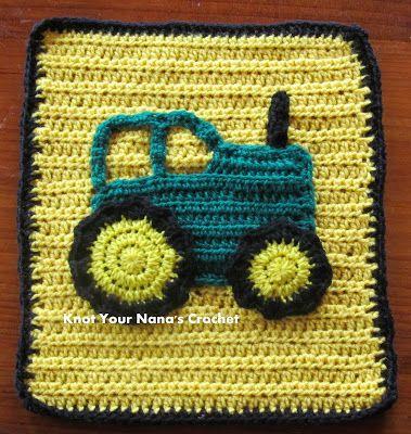 Knot Your Nana's Crochet: Farm Blanket