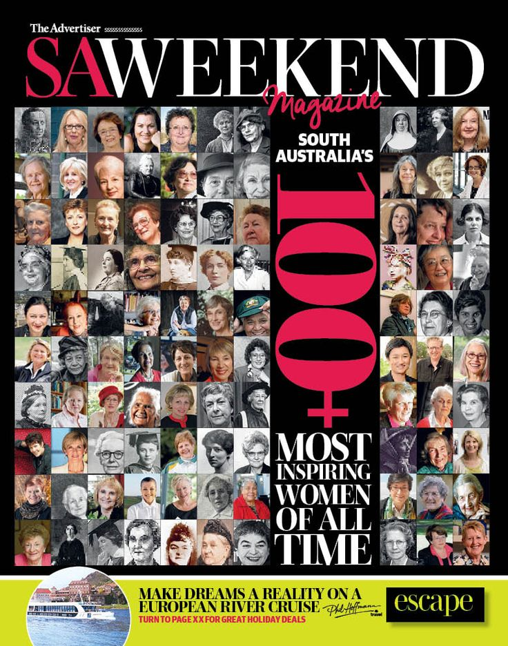 March 6, 2016 Cover #inspirationalwomen #SAWeekend #weekendread