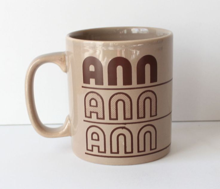 Vintage Kiln Craft Staffordshire Personalized Ann Mug Name Coffee Typography #KilnCraft & 85 best staffordshire potteries kiln craft mugs images on Pinterest ...