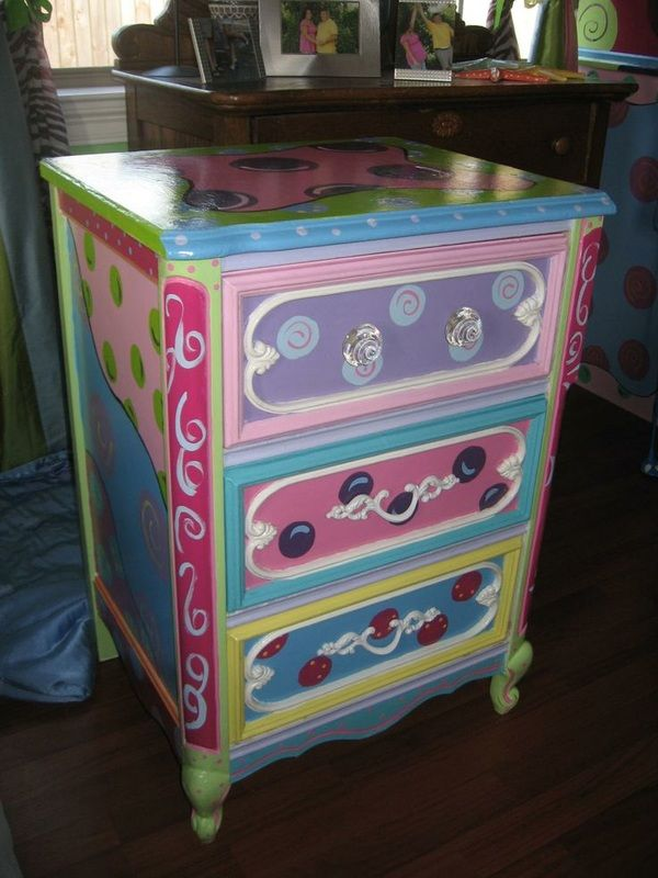 """Colorful Drawers from """"Funny Furniture"""""""
