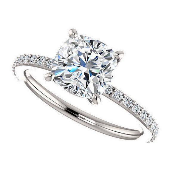 Diamantring 2 karat  Die besten 25+ 2 carat ring Ideen auf Pinterest | 2 karat, dünne ...