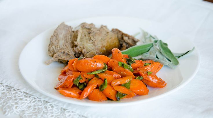 Sauteed Carrots with Sage freezable side dishes.