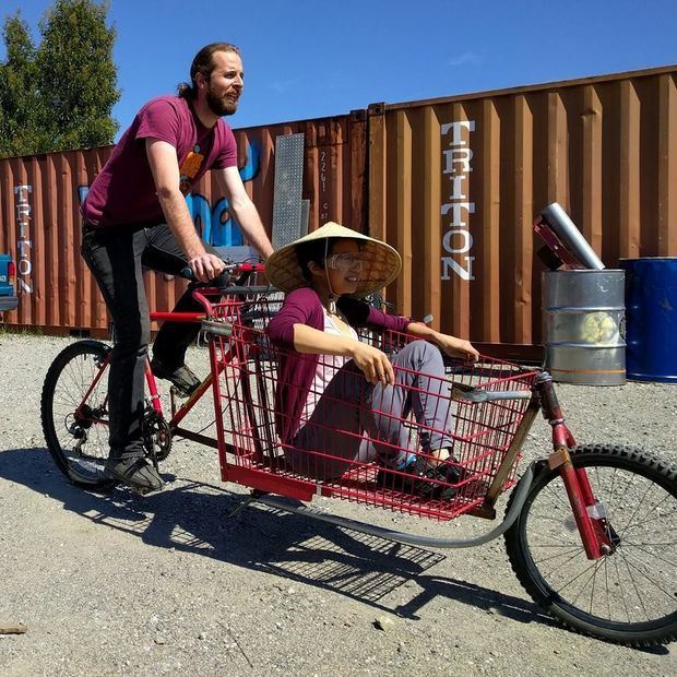 Picture of Build a Shopping Cart Cargo Bike