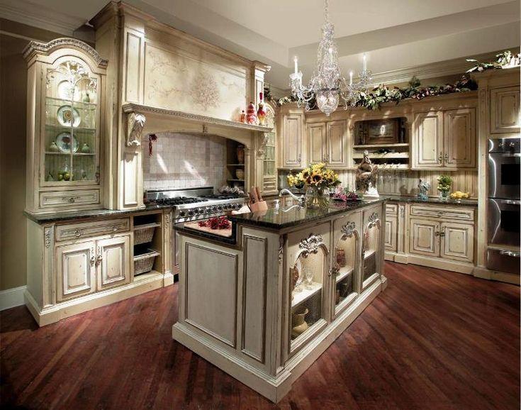 Country mutfak dekorasyonu