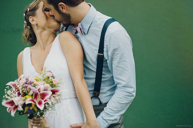 Casamento rústico no campo, recheado de diy e preparado em 2 meses!