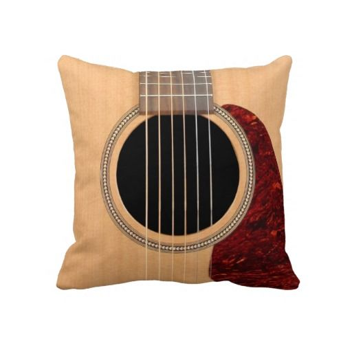 Acoustic Guitar Pillow