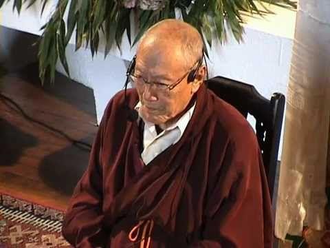 ▶ Enseignements sur la méditation, par le Vénérable Dagpo Rinpoché (Vajrayana, Gelugpa) - YouTube